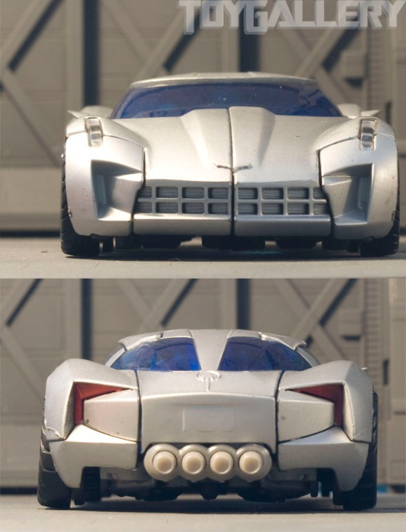 Front and Back view of Sideswipe