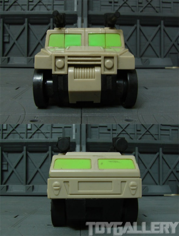 Ironhide front and back