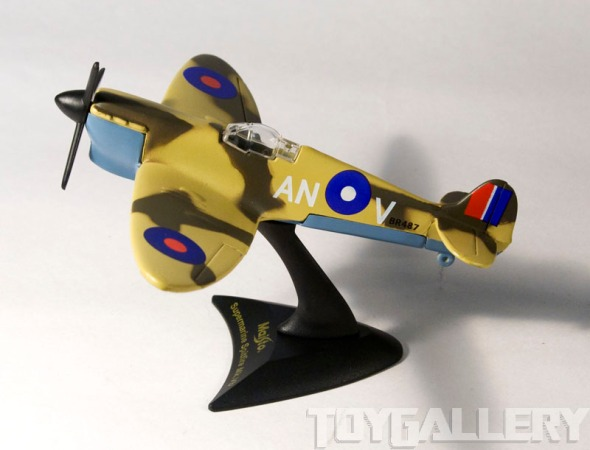 spitfire stand side view