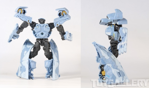 depthcharge bot mode rear and side view