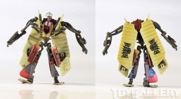 ransack bot front and back view
