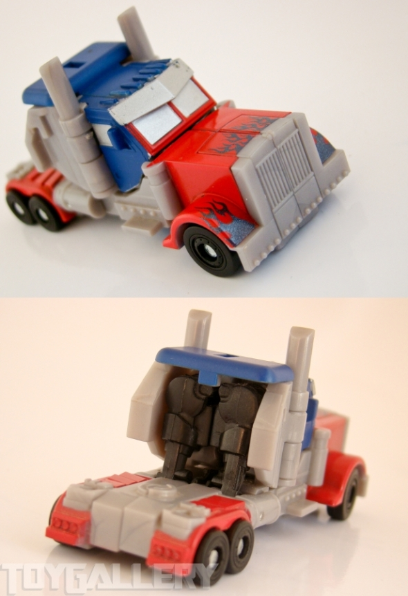 Optimus Prime Legend TRUCK FRONT BACK