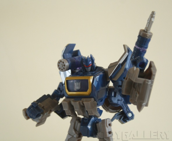 Soundwave bot mode