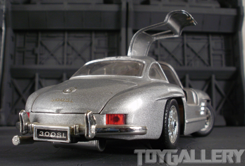 Scale models for Mercedes benz with wing doors
