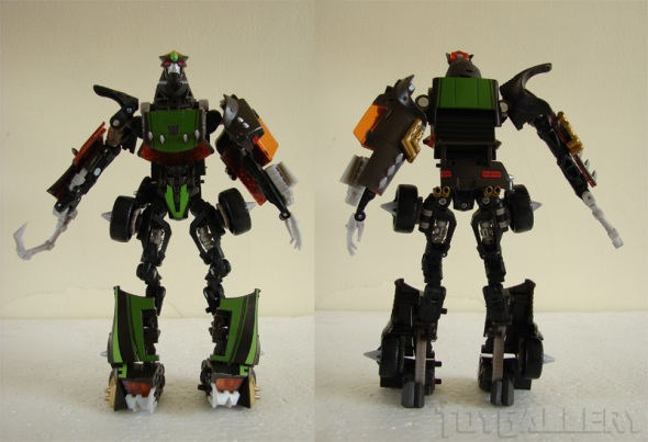 lockdown bot front back
