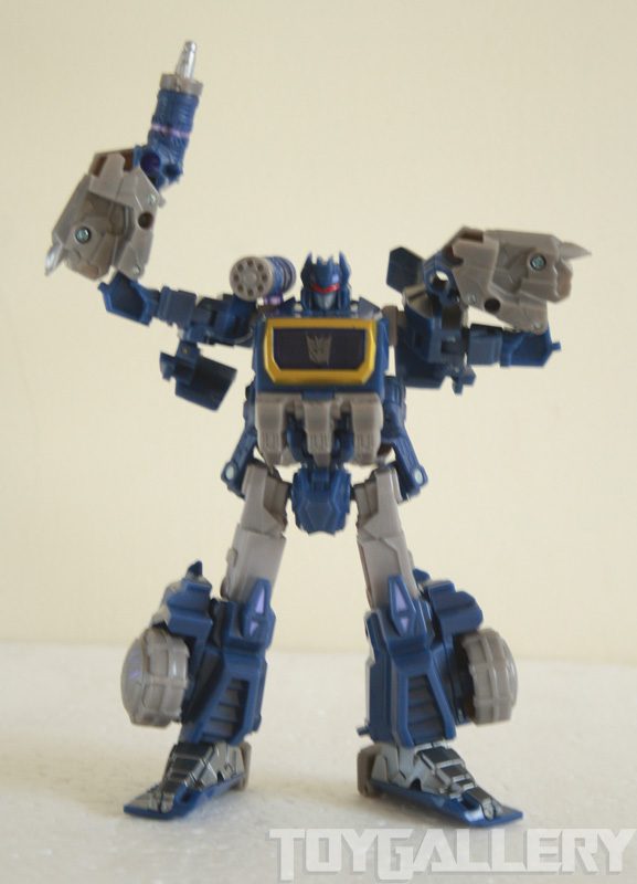 Soundwave bot mode arm articulation