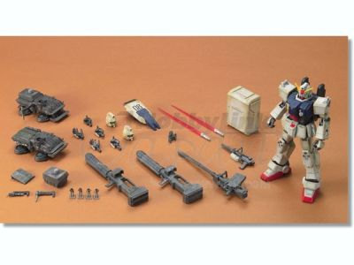 Gundam the ground war - accessories