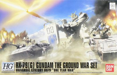 1/144 HGUC RX-79(G) Gundam The Ground War Set