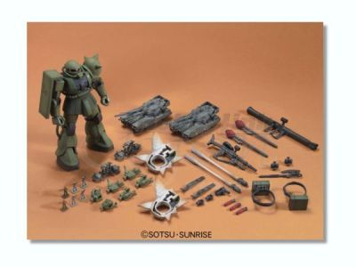 Zaku the ground war - Accessories