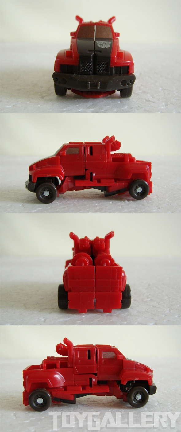 Ironhide alt mode 360 view